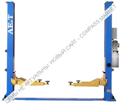 Подъемник двухстоечный Т4B (220В/380В), AE&T (Китай)