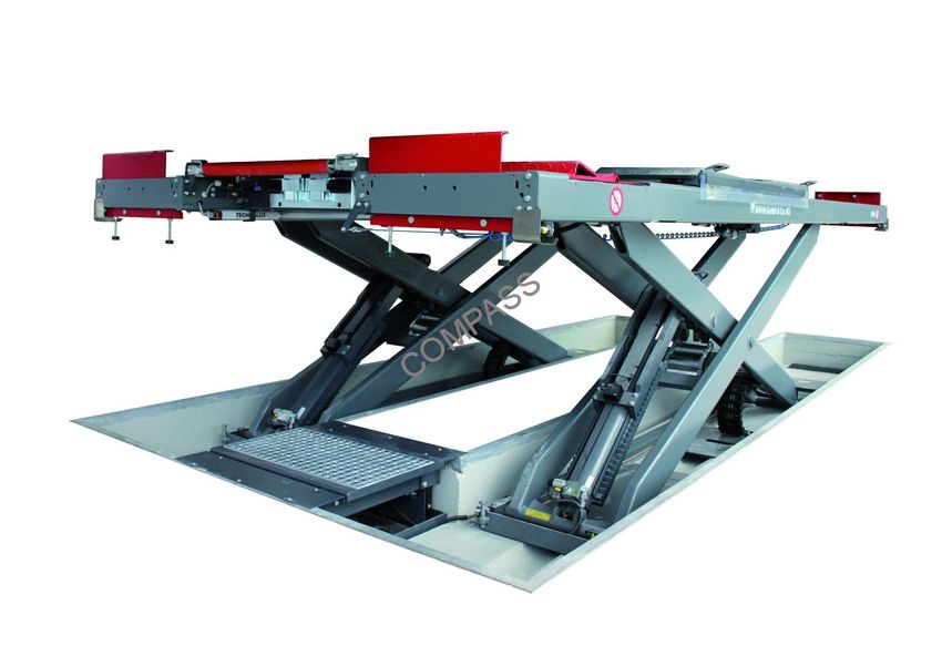 Подъемник ножничный заглубляемый г/п 5000 кг., платформы гладкие, Slift (Германия)