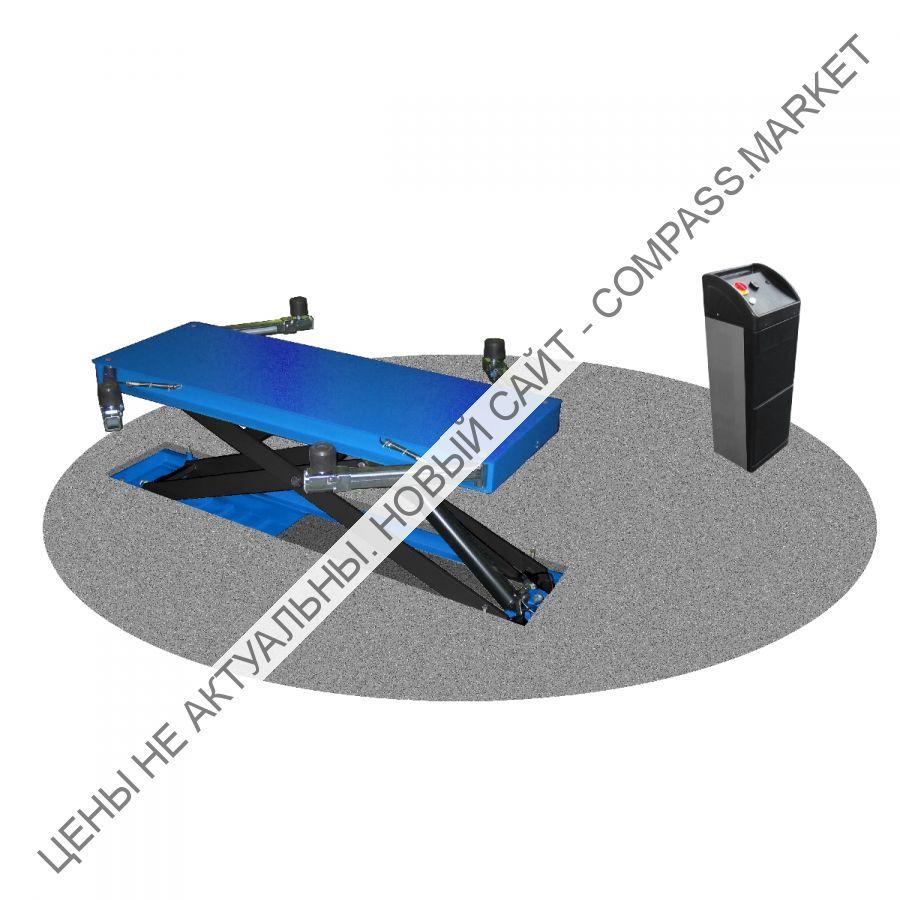 Подъемник ножничный одноплатформенный, заглубленный, г/п 3000 кг, Werther-OMA (Италия)