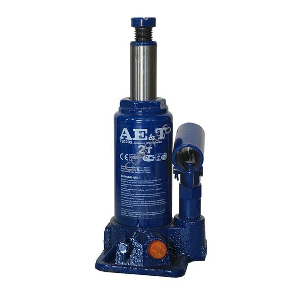 Домкрат бутылочный T20202 AE&T 2т